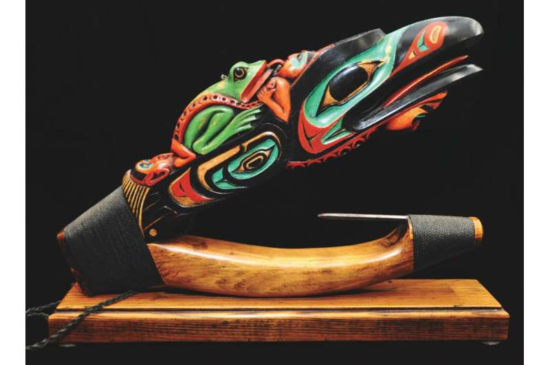 Team examines the evolution of wooden halibut hooks carved by native people of the Northwest Coast