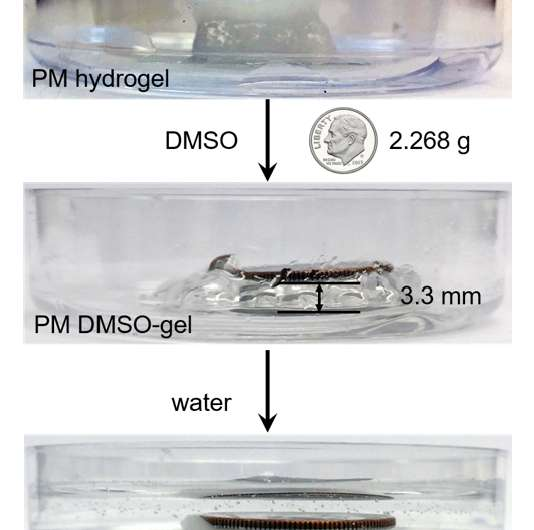 3-D printing turns nanomachines into life-size workers