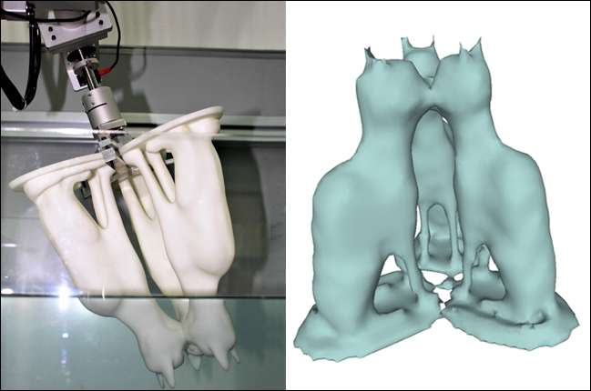 3-D scanning with water