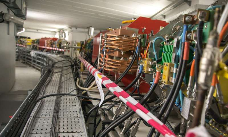 First light for pioneering SESAME light source