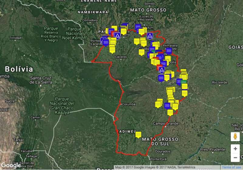 Hydroelectric dams threaten Brazil's mysterious Pantanal - one of the world's great wetland
