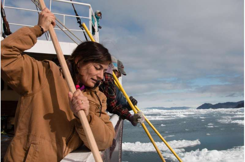 Investigators find direct evidence of sea level 'fingerprints'