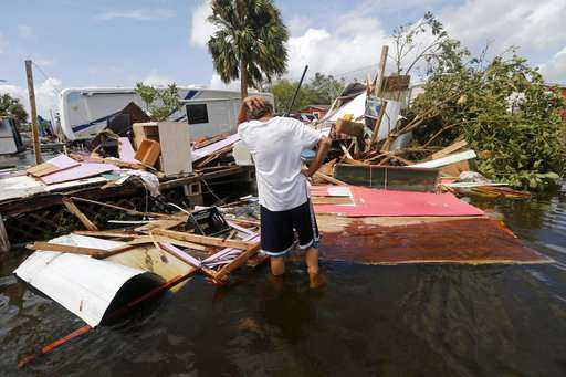 Irma spawns unusual storm surges on both Florida coasts