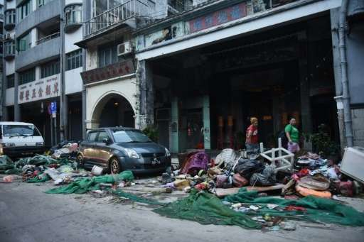 The government of Macau is facing criticism for being unprepared for Typhoon Hato, which left at least nine people dead in the c