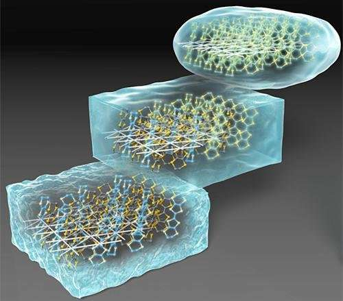 Understanding how electrons turn to glass