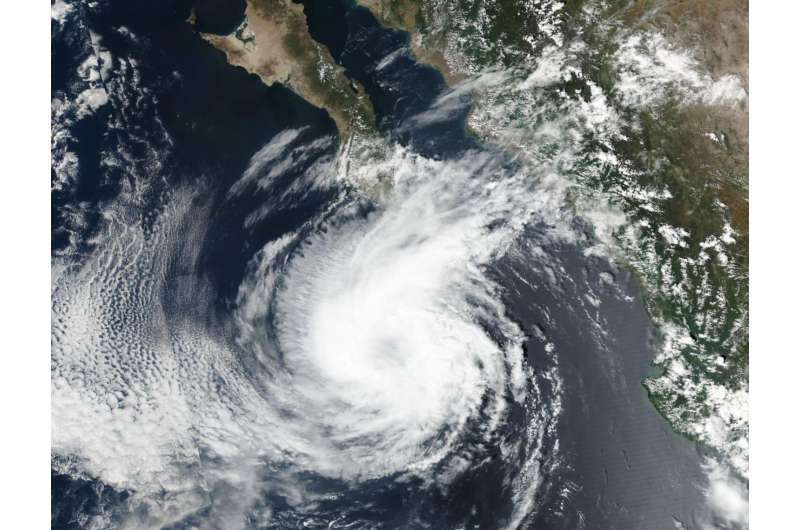 NASA sees Tropical Storm Norma kicking up surf in Mexico