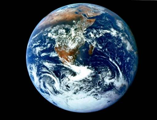 Scientists dealt a blow Monday to the quest for organisms inhabiting worlds besides Earth, saying our planet was unusual in its