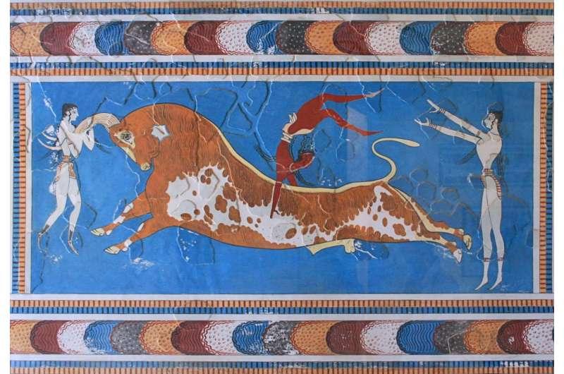 Ancient DNA reveals origins of the Minoans and Mycenaeans