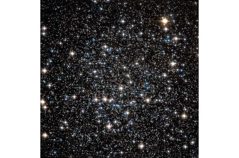 Astronomers study the extended stellar structure around the globular cluster NGC 288