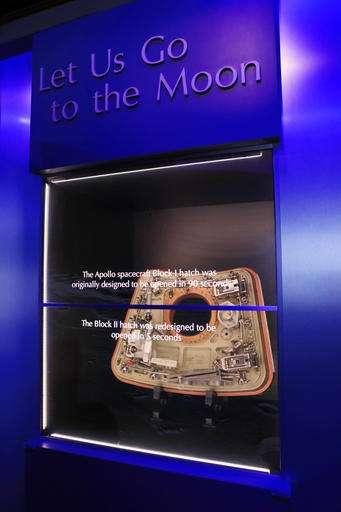 NASA opens exhibit on 50th anniversary of Apollo 1 fire