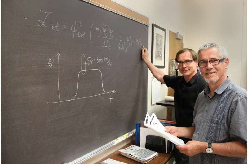 One step closer to defining dark matter, GPS satellite atomic clocks on the hunt