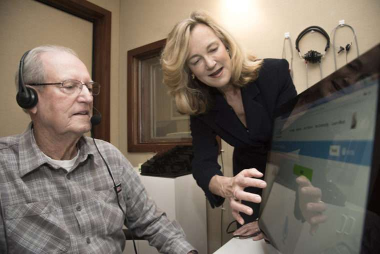 Patients with hearing loss benefit from training with loved one's voice
