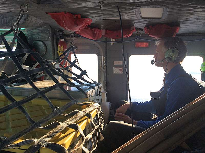 Scientists report ocean data from under Greenland's Petermann Glacier