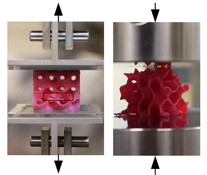 Researchers design one of strongest, lightest materials known