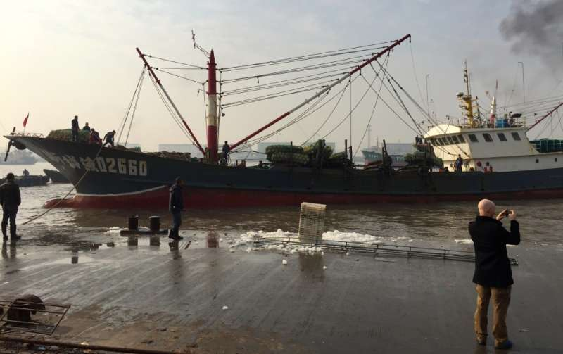 New study examines how China maintains large catches and what it means for fishery management elsewhere