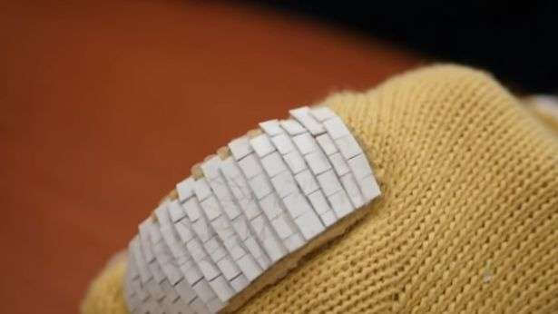 Protective wear inspired by fish scales