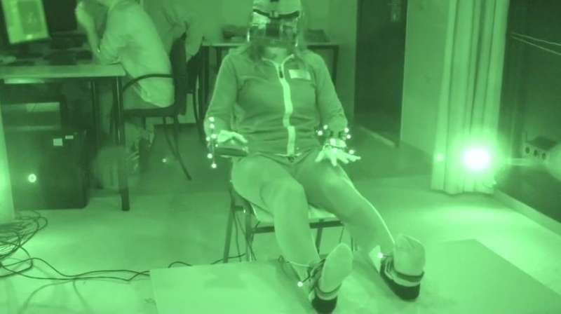 Virtual reality 'out-of-body experience' reduces fear of death in volunteers