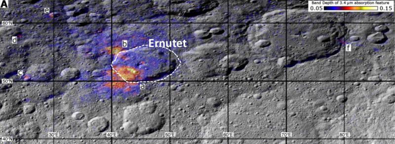 Scientists study geology of Ceres to understand origin of organics
