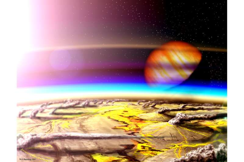 Volcanic hydrogen spurs chances of finding exoplanet life