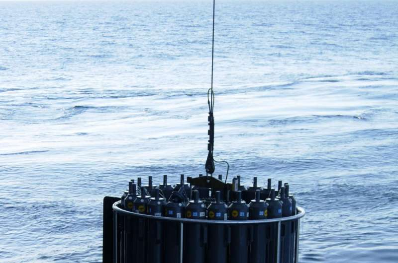 First direct measurements of Pacific seabed sediments reveal strong methane source