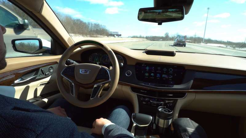 Cadillac to make Super Cruise hands-free driving tech available in 2018 Cadillac CT6