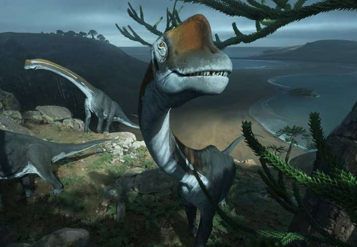 Earliest relative of Brachiosaurus dinosaur found in France
