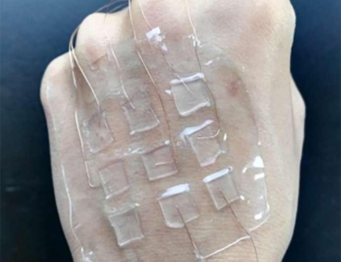 Chinese team develops skin-like triboelectric nanogenerator