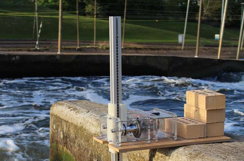 Old bike parts turn the cogs of new wave energy harvester