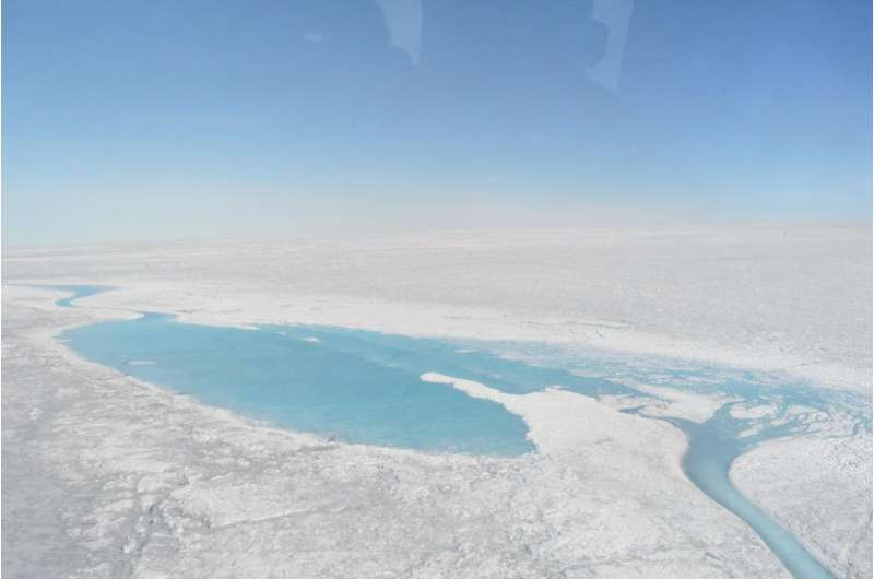 More summer sunshine leading to increased Greenland ice melt