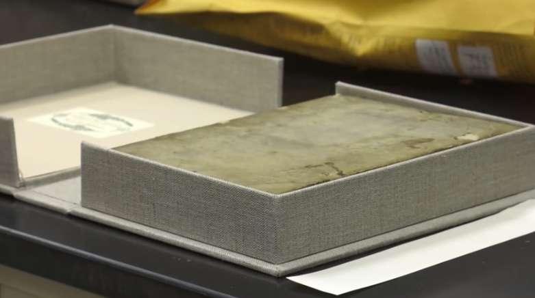 Fused imaging reveals sixth-century writing hidden inside bookbinding