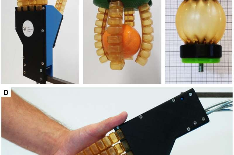 New soft rubber allows for creating self-healing robots