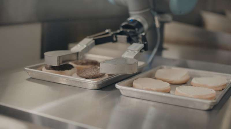 Burger robots to appear at 50 locations