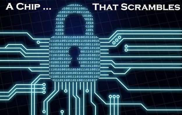 Mini Crypto chip is a self-contained encryption engine