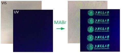 Researchers report a new and better kind of invisible ink
