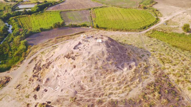 Excavation in Northern Iraq: Sasanian loom discovered