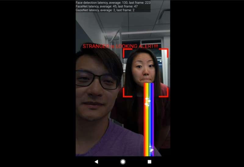 """Google video demonstrates """"stranger is looking alert"""" for smartphones"""