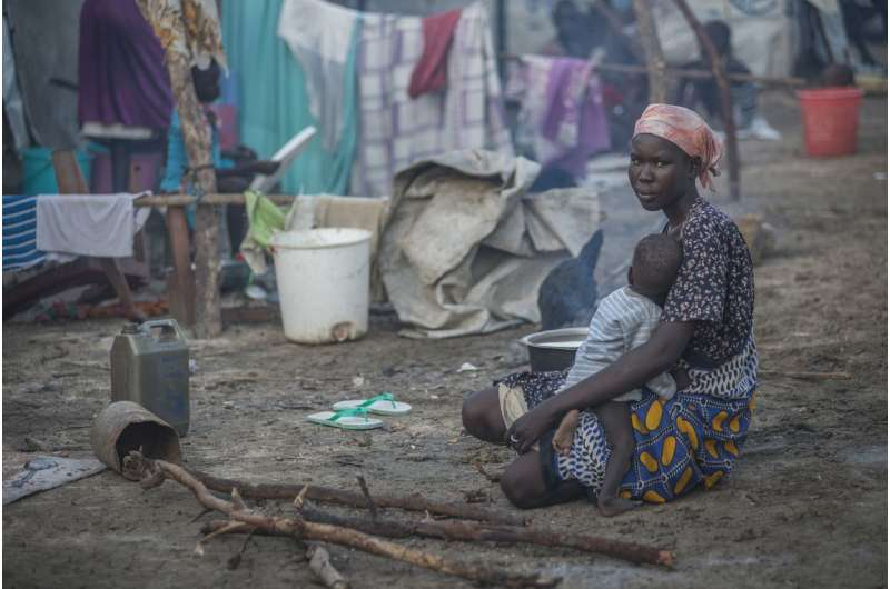 Levels of violence against women and girls in south Sudan among the highest in the world