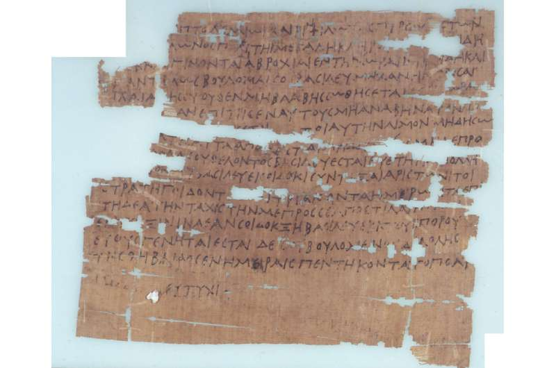 Volcanic eruptions linked to social unrest in Ancient Egypt