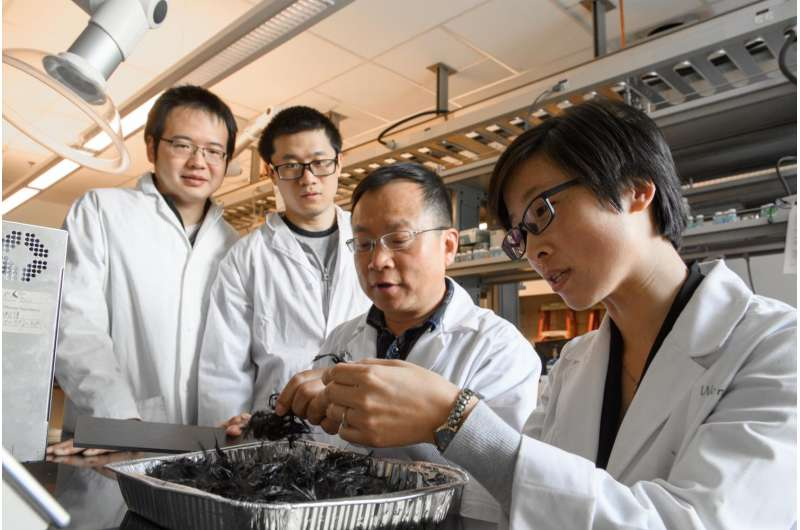 Researchers develop recycling for carbon fiber composites