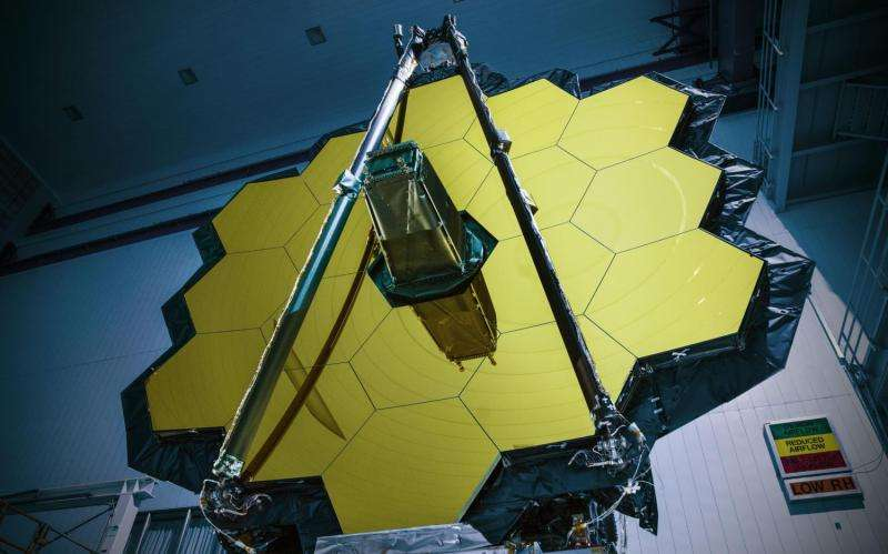 NASA's Webb Telescope completes Goddard testing, heading to Texas for more