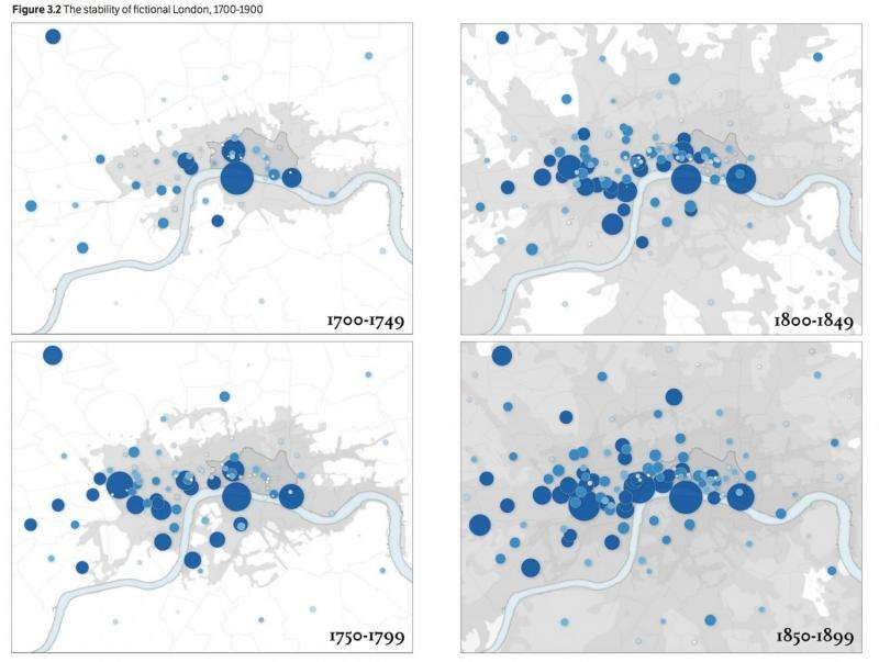 Researchers map fear and happiness in historic London