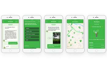 Smartphone app could reveal how urban spaces affect our health and wellbeing