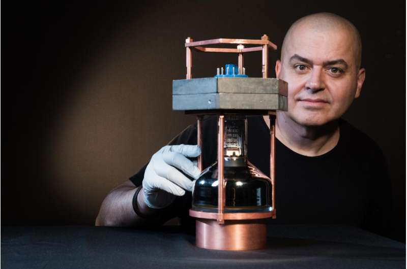 World's smallest neutrino detector observes elusive interactions of particles