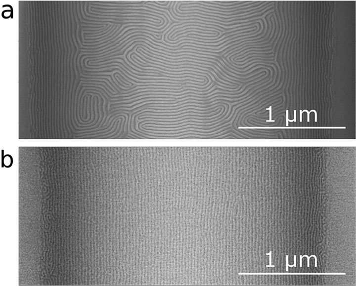 Accelerating the self-assembly of nanoscale patterns for next-generation materials