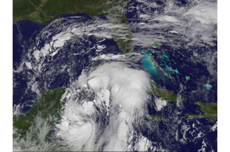 NASA analyzes Tropical Storm Nate