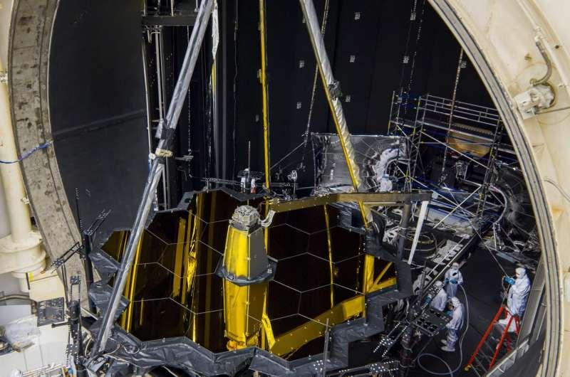 NASA's Webb telescope gets freezing summertime lodging in Houston