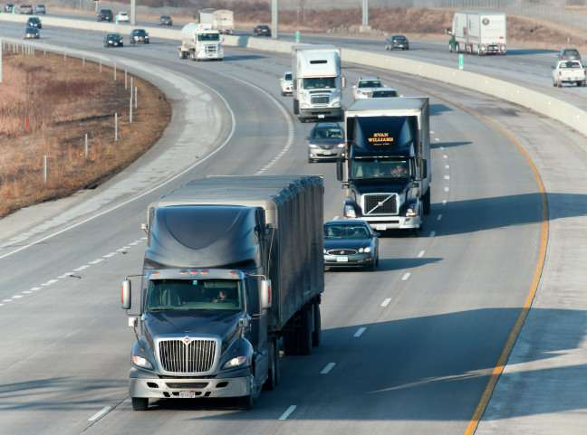 Access to big data would help trucking companies improve safety and productivity