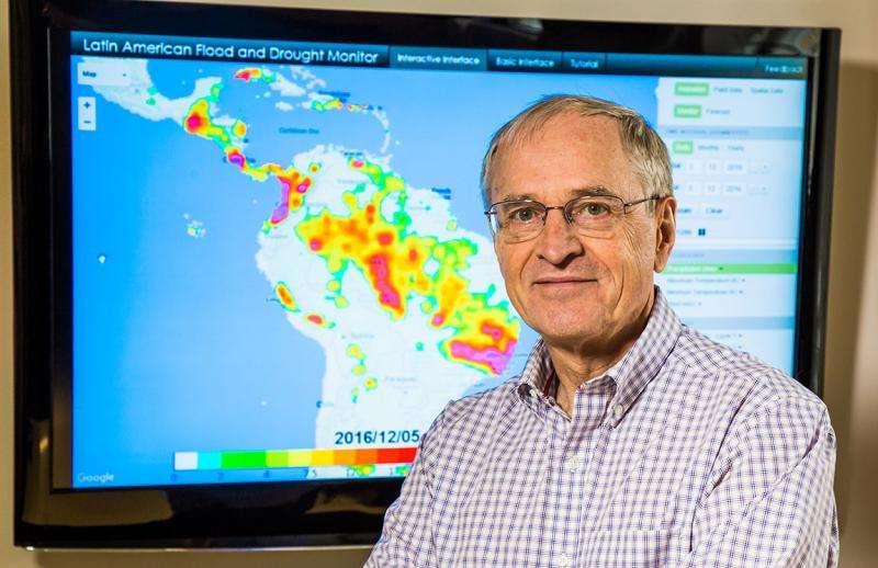Advanced drought and flood risk monitoring program for environmentally vulnerable regions