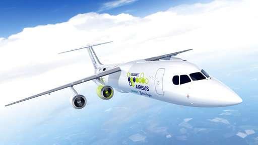 Airbus, Rolls-Royce, Siemens working on hybrid plane