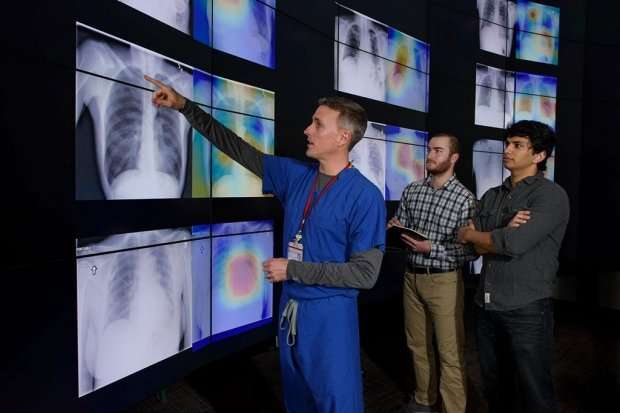 Algorithm better at diagnosing pneumonia than radiologists